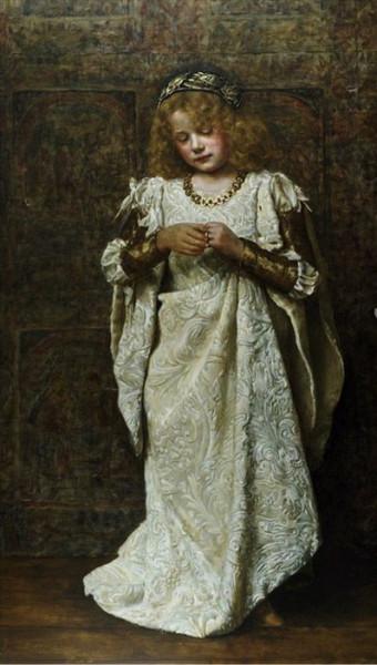 John Maler Collier - The Child Bride
