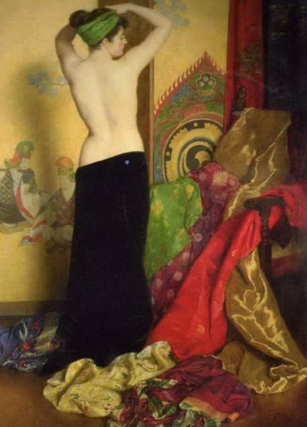 John Maler Collier - Pomps and Vanities