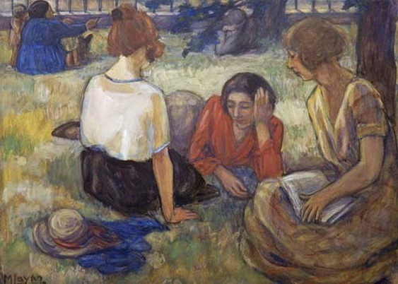 Mabel Frances Layng - Under the Trees