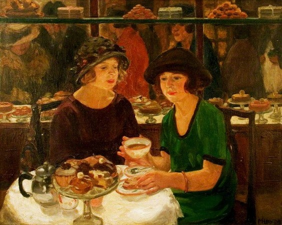 Mabel Frances Layng - The Tea Table