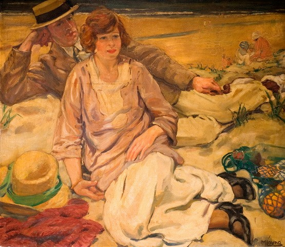 Mabel Frances Layng - The Holidaymakers