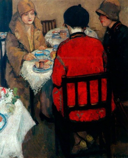 Mabel Frances Layng - The Tea Room