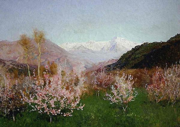 Levitan -   Spring in Italy