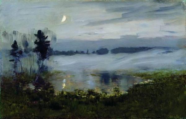 Levitan -  Fog over water