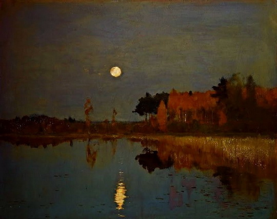 Levitan - The Twilight Moon