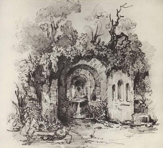 Исаак Левитан. 1886. Источник
