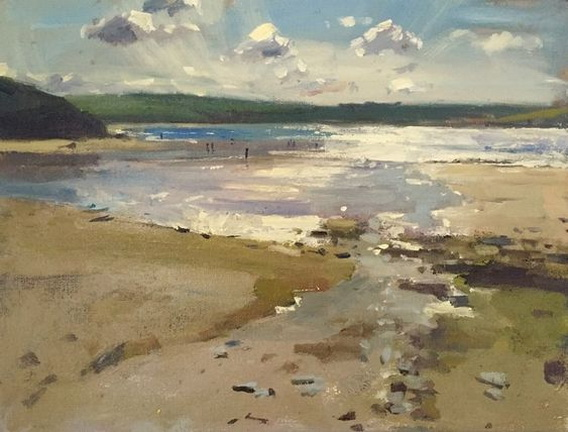 Alice Boggis-Rolfe - Late Afternoon on Daymer