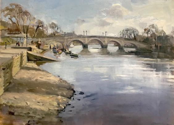 Alice Boggis-Rolfe - Richmond Bridge