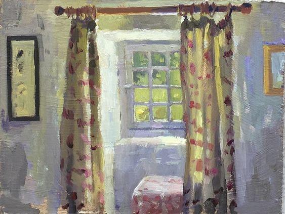 Alice Boggis-Rolfe - Window to the Baker's Garden