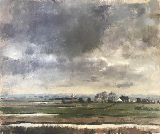 Alice Boggis-Rolfe - Norfolk Skies, Winter