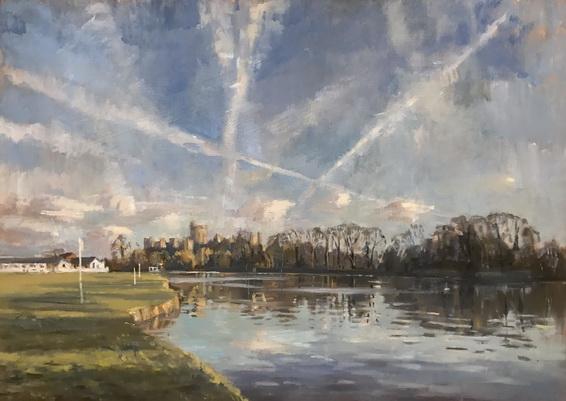 Alice Boggis-Rolfe - Flight Lines over Windsor Castle