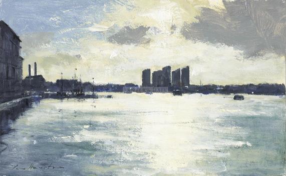 Ian Houston - Looking into the Light - Mid Stream at Battersea