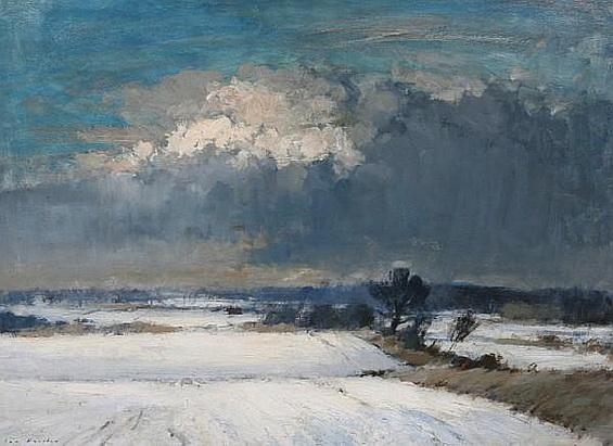 Ian Houston -  'Winter in Norfolk