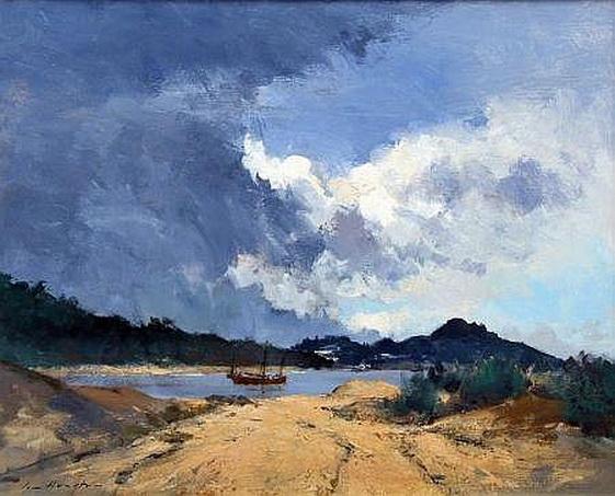 Ian Houston -  Junk at Stanley Bay