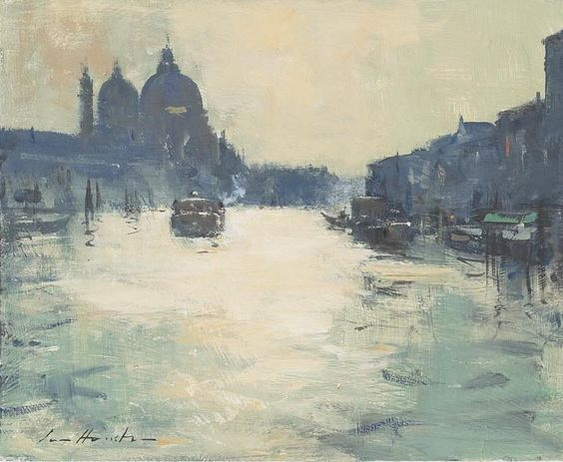 Ian Houston -  Venice On the Grand Canal by the Salute