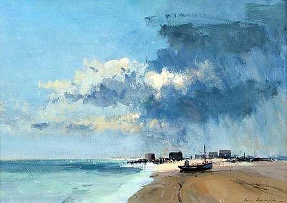 Ian Houston - Hythe - Beached Fishing Boat
