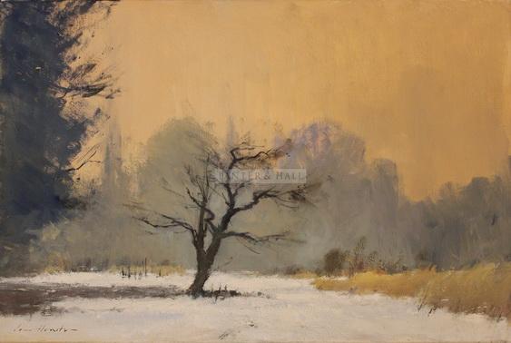 Ian Houston -  Cherry Tree in the Snow