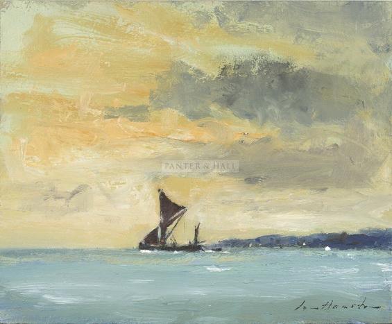Ian Houston -  Sailing Barge Outward Bound