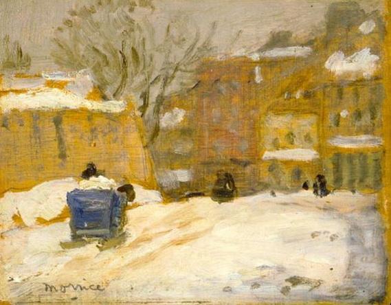 James Wilson Morrice - Street in Quebec