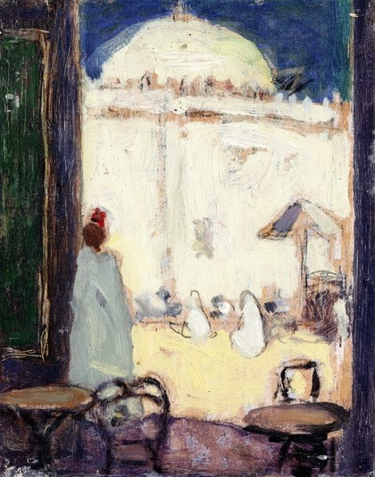 James Wilson Morrice - The Mosque, Algiers
