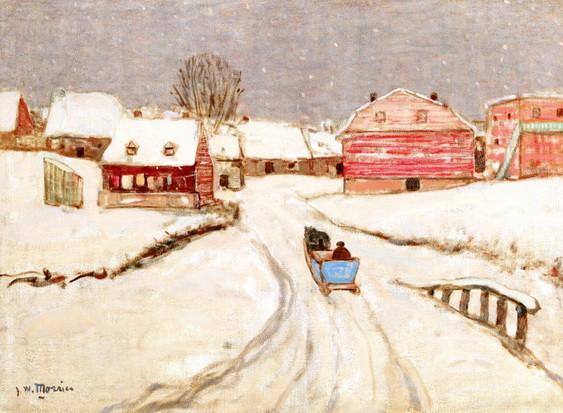 James Wilson Morrice - Entrance to a Quebec Village