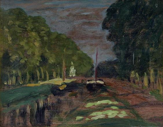 James Wilson Morrice - Paris Canal