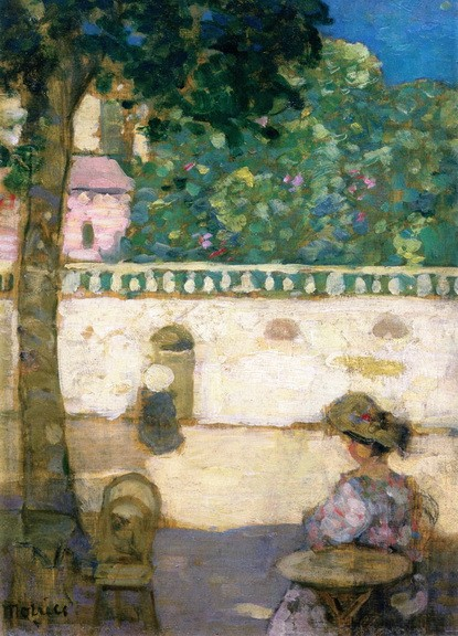 James Wilson Morrice - Afternoon, Avignon