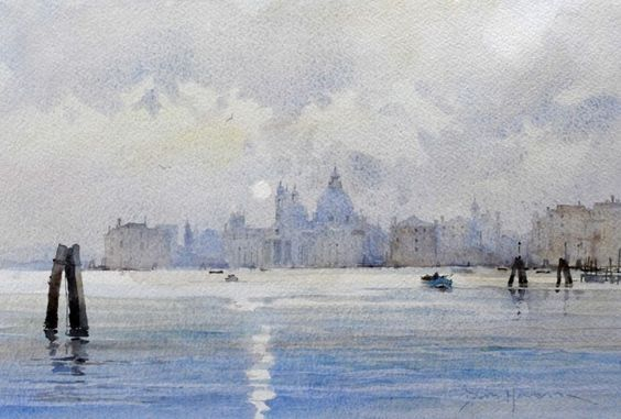 David Howell - BACCINO DI SAN MARCO, A WINTER'S AFTERNOON, VENICE