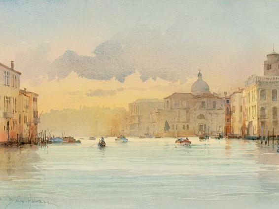 David Howell - The Grand Canal, Cannareggio, Venice