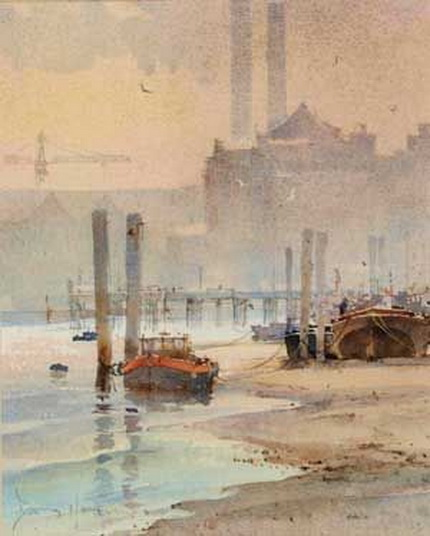 David Howell - The Thames at Chelsea