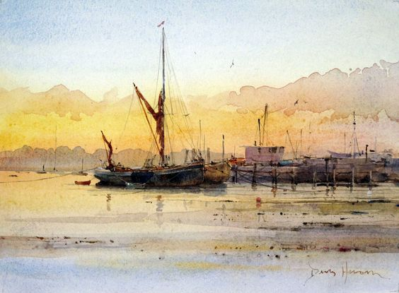 David Howell - Daybreak at Pin Mill