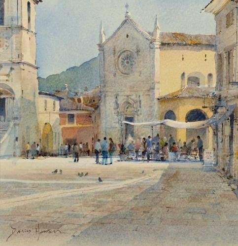 David Howell - Benedetto, Norcia, Umbria