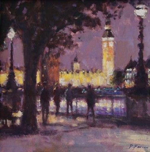 David Farren -  Saturday Evening Stroll, Southbank