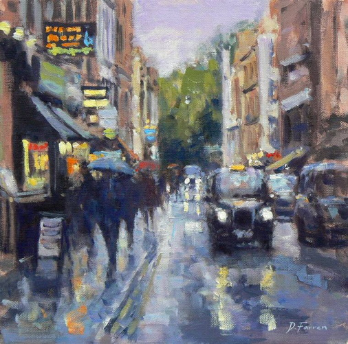 David Farren - Outside Ronnie Scotts
