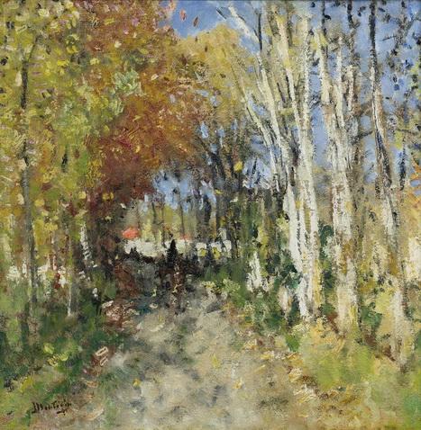 Pierre Montezin - Alley In The Forest