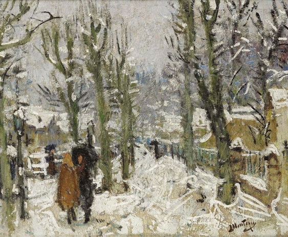 Pierre Montezin - Snowy Landscape