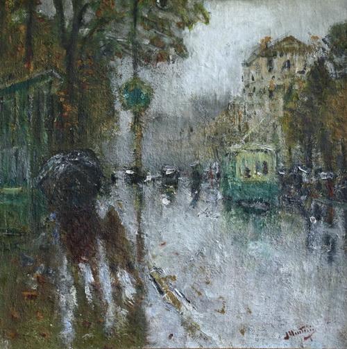 Pierre Montezin - paris in the rain