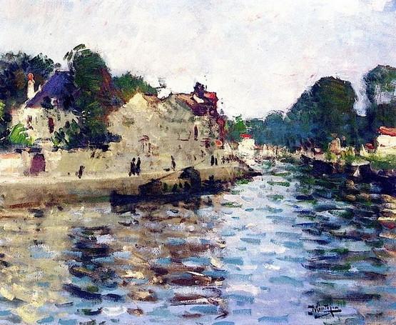 Pierre Montezin -  Banks of the Seine