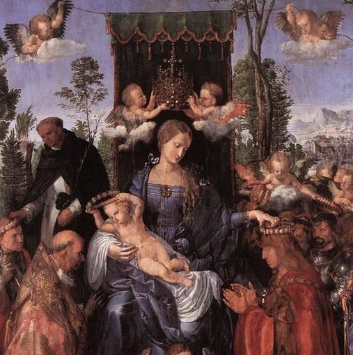 Albrecht Durer - Fete du Rosaire