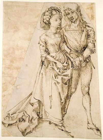 Albrecht Durer - Lovers
