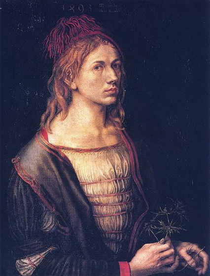 Albrecht Durer - Self Portrait at 22
