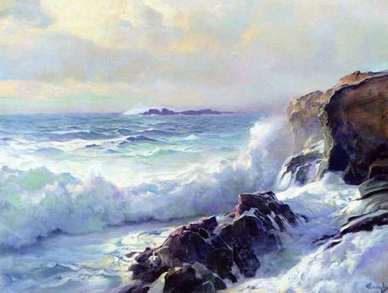 F.J. Waugh - White Surf