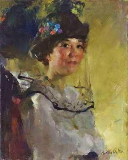 Martha Walter Woman with Veil