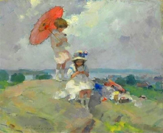 Martha Walte - The Red umbrella