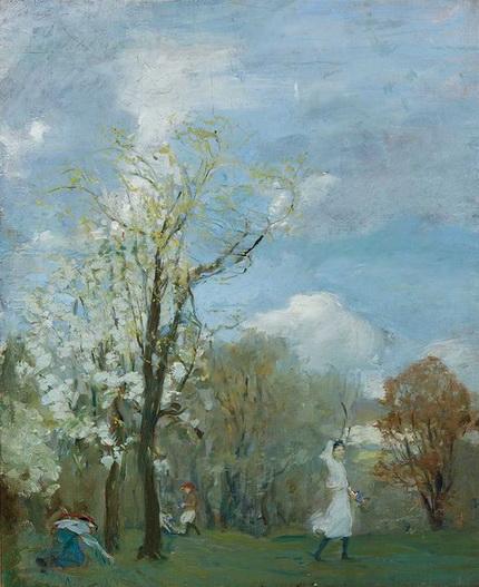 Martha Walte - Windy Spring Day