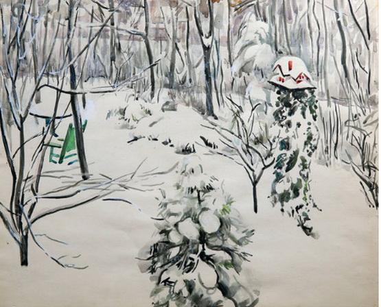 Martha Walte - Snow Scene