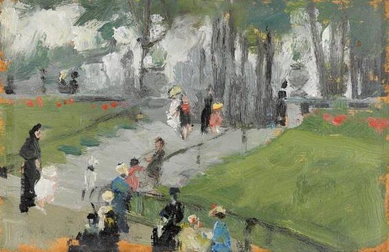 Martha Walte - Park in Paris