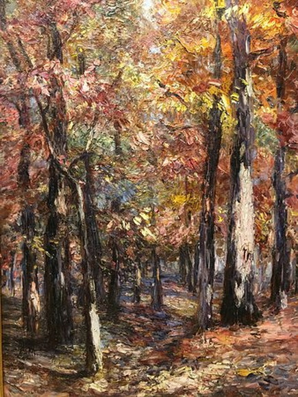 Catherine Wiley - Woodland Scene -