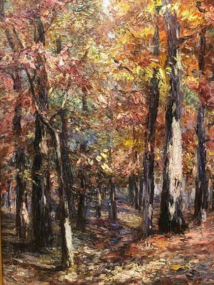 Catherine Wiley - Woodland Scene -