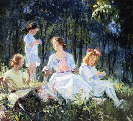 Catherine Wiley - a sunlit afternoon